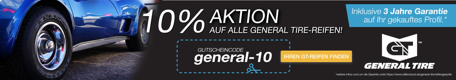General Tire 10% Gutschein